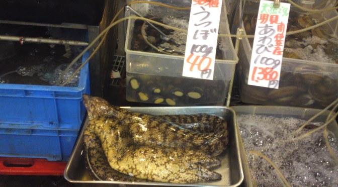 Moray Eel at Shizuoka Parche Market!