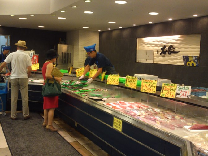 Local Shizuoka Fish & Seafood at Parche Fish market in Shizuoka City: Including Splendid Alfonsino!