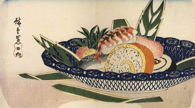 Sushi: Japanese~English Lexicon (latest amended in October 2018, including history)