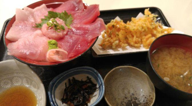 Sushi and Sashimi Lunch at Maguro Ichigo In Shimizu Fish Market, Shizuoka City!